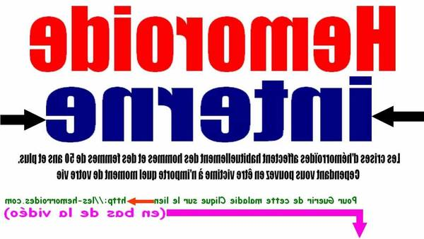 Hemorroide Saignement 5de0b7105f60b